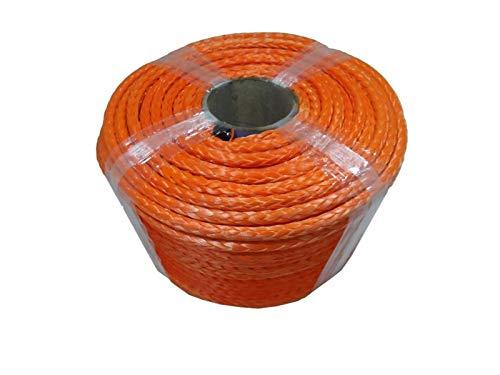 WFBD-CN Adecuado para remolques Cuerda de Naranja 10mm * 100 m, Cuerda sintética, Cuerda UHMWPE, Cuerda de Carretera