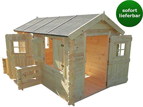Spielhaus Deluxe Rodney Park aus 19mm Blockbohlen - 2,35 x 1,75 Meter