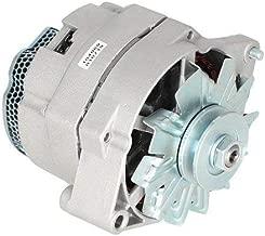 Alternator - Delco Style (7186-12) Compatible with John Deere 4050 4240 4250 4230 4630 4440 4430 Case Bobcat International Massey Ferguson White Allis Chalmers New Holland Gleaner Case IH Versatile