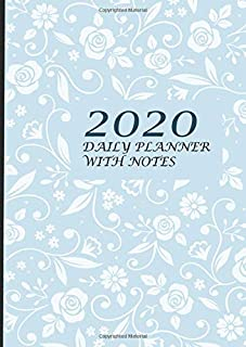 2020 daily planner with notes: Format A4 | 135 pages- allows you to plan 365 days | from January 1, 2020 to December 31, 2020