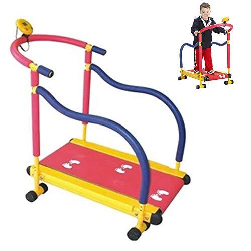 Tragbares Manuelles Laufband - Nicht Motorisierte Fitnessgeräte für Kinder - für 3 Bis 8 Jahre