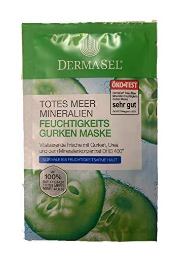 DermaSel - Maschera idratante ai sali del Mar Morto DermaSel