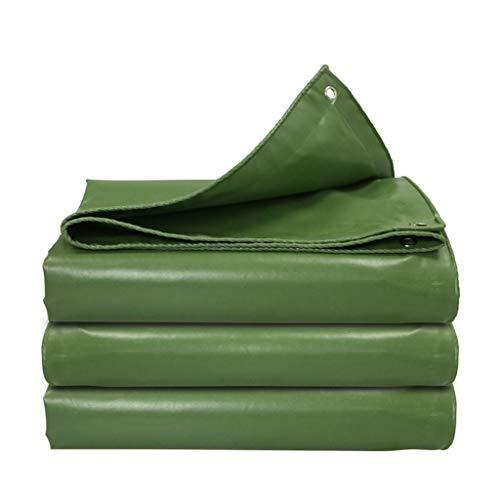 HUADA Outdoor Regendicht Dekzeil Verdikte Vlamvertrager/waterdicht/luifel/auto Tarpaulin 500G/vierkante Meter (groen) 2mx2m
