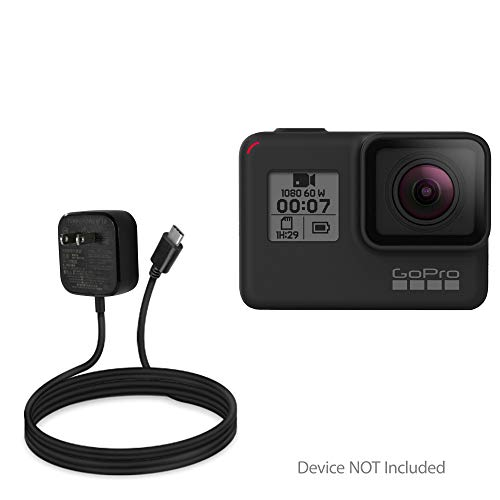 GoPro Hero 7 Black Charger, BoxWave [Wall Charger Direct] Wall Plug Charger for GoPro Hero 7 Black