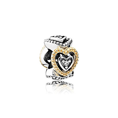 Pandora Damen-Bead Charms 925 Sterlingsilber 791975CZ
