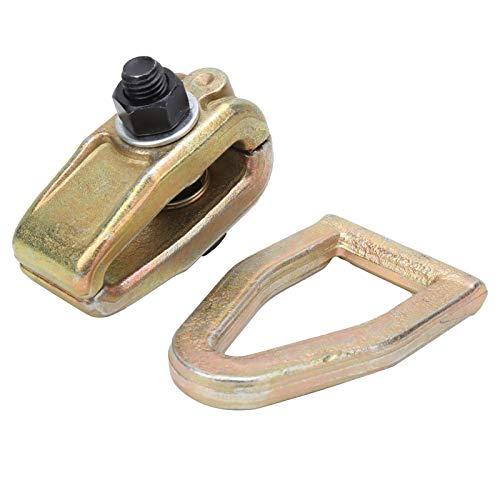 SALUTUYA Material de Acero al Carbono, Abrazadera de tracción de Metal, Herramienta de reparación automática, Herramienta de Mano