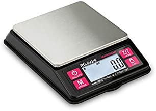 Truweigh MARKSMAN Digital Reloading Scale - 100g X 0.005g - Grains X 0.1gn - Black - Digital Milligram Scale - Milligram Powder Measure Dispenser - Reloading Equipment - Digital Grain Scale
