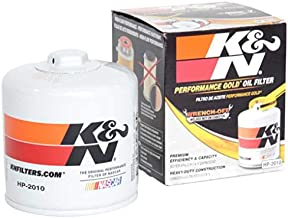 K&N Premium Oil Filter: Protects your Engine: Compatible with Select CHEVROLET/DODGE/FORD/LINCOLN Vehicle Models (See Product Description for Full List of Compatible Vehicles), HP-2010