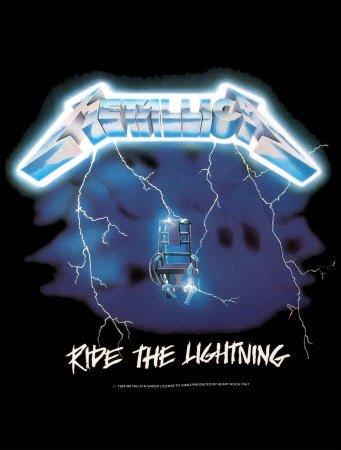 Empire - Póster (77 x 102 cm), diseño de Metallica Ride The Lightnin