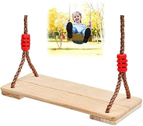 WYBD Caballo De Madera Swing Swing Asiento Al Aire Libre Jardín Patio Trasero Terree Swing Juegos De Niños Columpios para Niños Niños Adulto Jardín De Patio Exterior