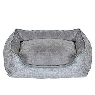 Bequem ✓ Der tiefe Einstieg ermöglicht auch älteren Tieren einen leichten Zugang zum Schlafplatz. In Kombination mit den hohen Seitenwänden hat der Hund so den maximalen Liegekomfort Vielseitig ✓ Auf der einen Seite ist das Hunde-Sofa kuschelig weich...