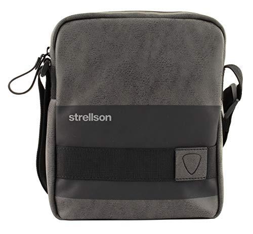 Strellson Herren Schultertasche Finchley Tasche aus Polyurethan