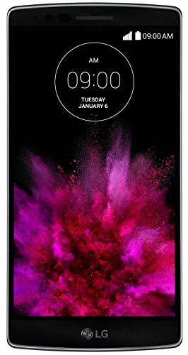 LG G Flex 2 Smartphone (13,97 cm (5,5 inch) Full-HD POLED-display, Qualcomm Snapdragon 810 2-GHz-octa-core processor, 13-megapixelcamera, 16 GB intern geheugen, Android 5.0) Platinum Silver
