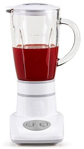 'Di alta qualità 'Mini–Mixer–stand Mixer con 450ml vetro brocca–multi Mixer per mescolare e Shaken di succhi, latte frullati, fruchtdrinks, yogurt Mix ecc.–Frullatore per tagliare e passa con 180Watt–colore bianco–nuovo & Confezione originale.