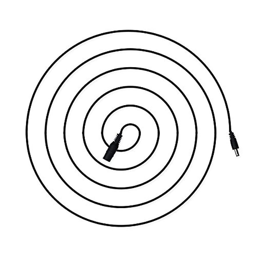 びっくりした促す団結電光ホーム DCケーブル 延長 5m オス メス φ 外径 5.5mm 内径 2.1mm