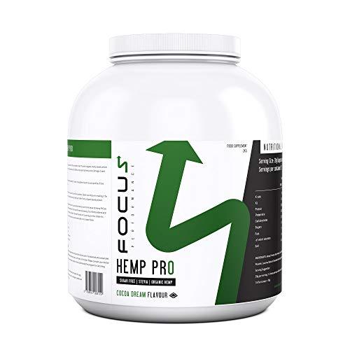 FP Hemp Pro Protein Powder   51 Servings, No Added Sugar or Artificial Sweetener