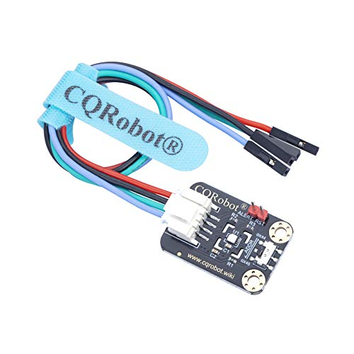 CQRobot Ocean: Temperature and Humidity Sensor Compatible with Raspberry Pi/Arduino Motherboard. Onboard SHT31-DIS-F chip, for Industrial Production, Weather Monitoring, Agricultural Monitoring, etc.