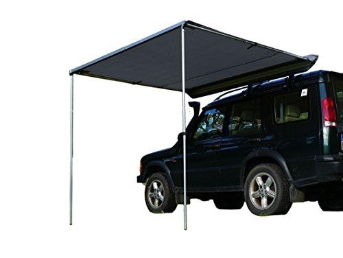 Prime Tech Fahrzeug-Markise 250x200x210cm grau auch für Dachzelte