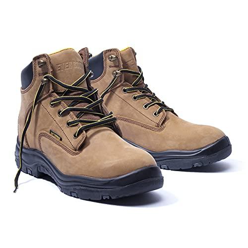 Ever Boots Men's Premium Leather Waterproof Work Boots...
