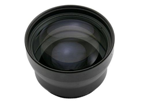 FOTGA 58mm 2.0X Telephoto Lens Fuer alle Kamera und Camcorder mit 58mm Vordere Gewinde