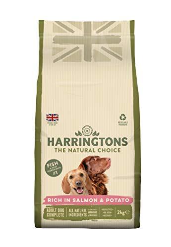 Harrington der Hund Futter komplett Trocken Mix  ( salmon and potato )4 x 2 kg