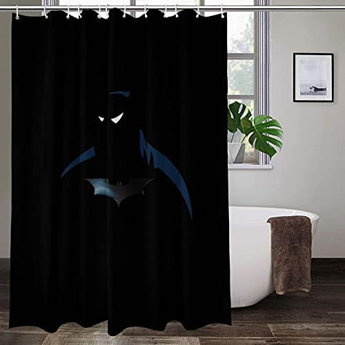 Duschvorhang, schimmelresistent, Batman-Design, für Zuhause, Badezimmer, Dekoration