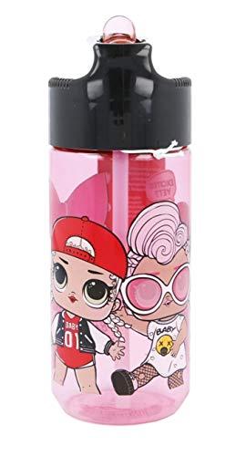 Theonoi Botella de agua para niños de Tritan, a elegir, diseño de Mickey Minnie Minnie Avengers Frozen Spiderman, sin BPA, a prueba de fugas, ligera, irrompible