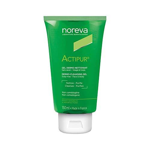 Noreva Actipur Reinigungsgel/ Waschgel 150ml/ für fettige und unreine Haut/ zur sanften Reinigung des Gesichts