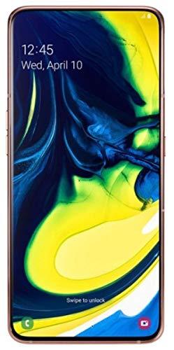 Samsung Galaxy A80 SM-A805F/DS Dual Sim (Factory Unlocked) 6.7' 128GB 8GB RAM (Angel Gold)