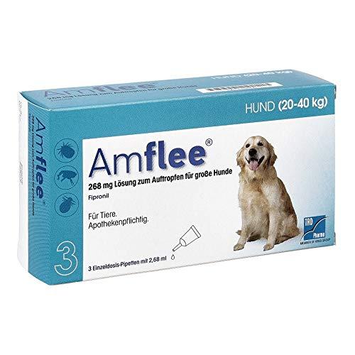 AMFLEE 268 mg Spot-on Lsg.f.große Hunde 20-40kg 3 St