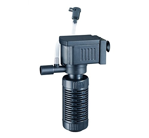takestop® Pomp Jeneca IPF-408 beluchter voor het aquarium, ventilatie-opzetstuk, 1 uitgang, 1,5 W 1,6 l/min