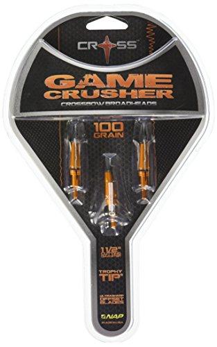 Barnett Cross Gamecrusher Broadheads 100 Grain 3 Pack
