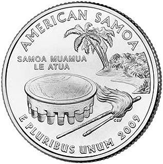 2009 D American Samoa State Quarter Uncirculated
