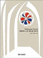 RICORDI PIZZETTI I. - MESSA DI REQUIEM - SOLE VOCI Partition classique Vocale - chorale Choeur et ensemble vocal