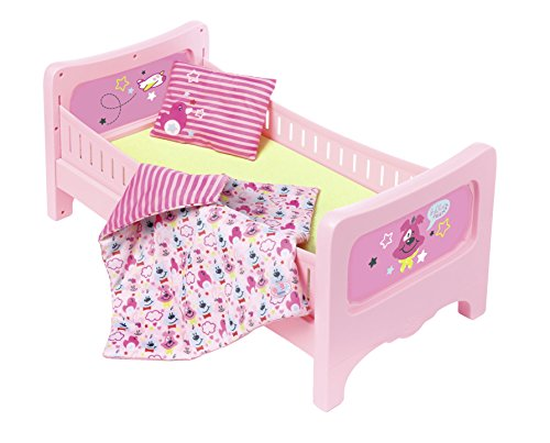 Zapf Creation 824399 Baby Born bed met knuffelbeddengoed, bont