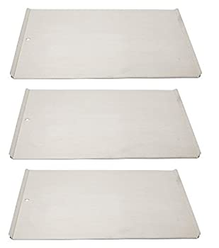 Vollrath 68085 Wear-Ever Cookie Sheet Pans Set of 3  17-Inch X 14-Inch Natural Finish Aluminum NSF
