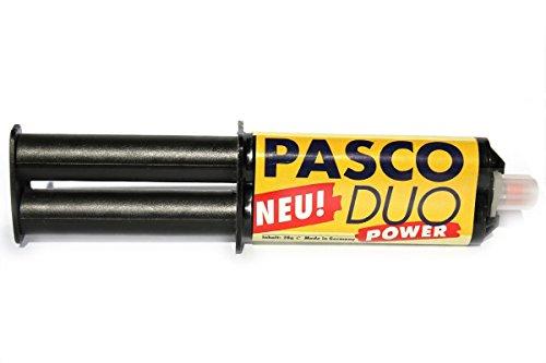 PASCO DUO lijm 25 ml, duurzame metaallegering, keramiek hout en hard plastic