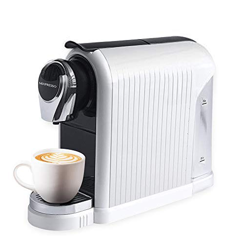 MiXPRESSO Elite Coffee Maker Espresso Machine   For Nespresso Compatible Capsules   19 Bar...