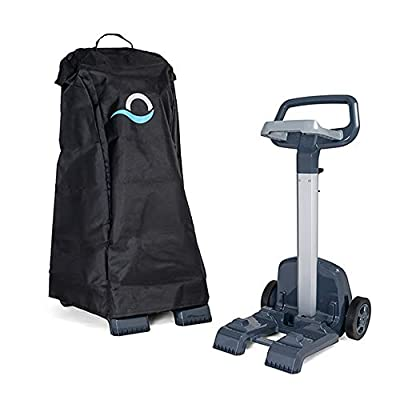 DOLPHIN Robotic Pool Vacuum Cleaner Universal Caddy and Premium Caddy Cover Bundle, The Ultimate Protection and Storage Solution for Your Robot…