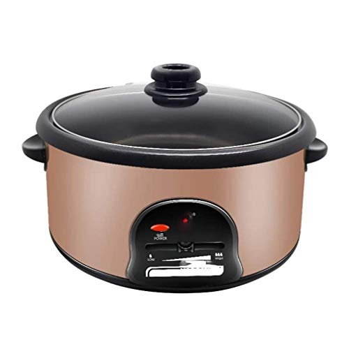SHAAO Hot Pot Bandeja eléctrica, Antiadherente Personal Stir Fry Plancha sartén con...