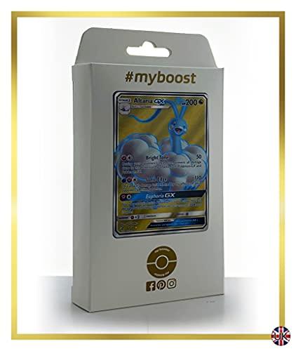 Altaria-GX 68/70 Full Art - #myboost X Sun & Moon 7.5 Dragon Majesty - Coffret de 10 Cartes Pokémon Aglaises