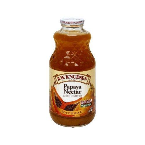 Knudsen Papaya Nectar - 32 ounce - 12 per case.
