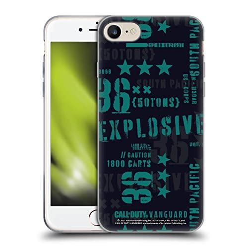 Head Case Designs Licenza Ufficiale Activision Call of Duty Vanguard Modello 2 Stampino modernista Cover in Morbido Gel Compatibile con Apple iPhone 7 / iPhone 8 / iPhone SE 2020