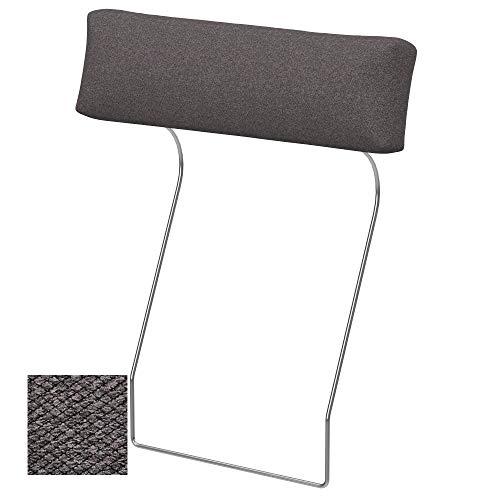 Soferia Fodera Extra Ikea VIMLE poggiatesta, Tessuto Nordic Dark Brown