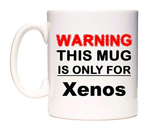 WeDoMugs Warning This Mug is ONLY for Xenos Becher
