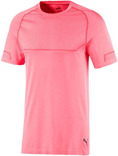 PUMA Energy Seamless Chemise, Ignite Pink Heather, XXL Homme