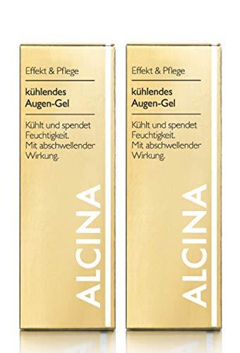2er E Kühlendes Augen Gel pflegende Kosmetik Alcina kühlt und spendet Feuchtigkeit je 15 ml= 30 ml