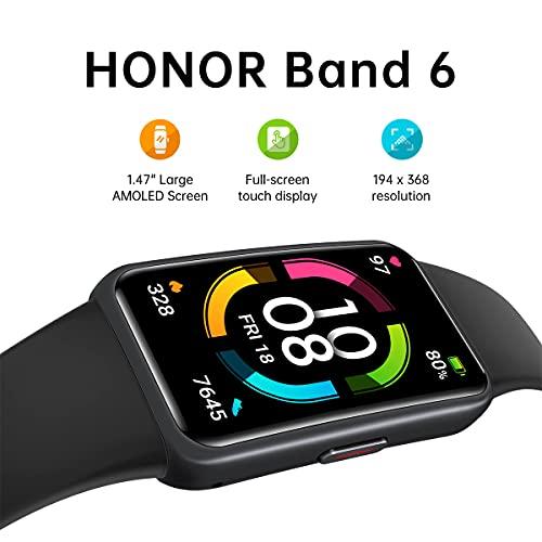 HONOR Band 6 Orologio-Smartband Fitness Tracker, 1.47
