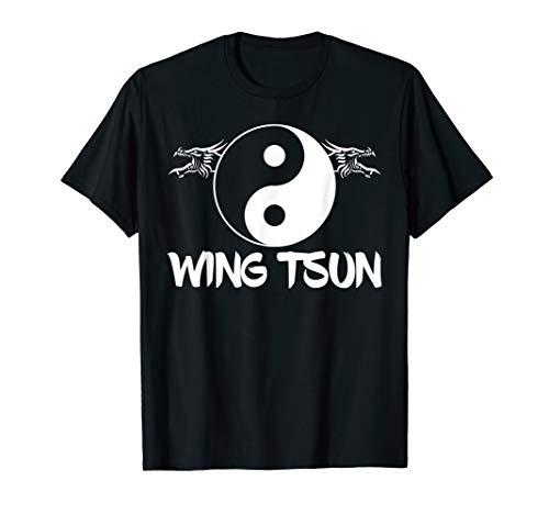 Wing Tsun Kampfsport I Wing Chun Geschenk Kampfsportverein T-Shirt