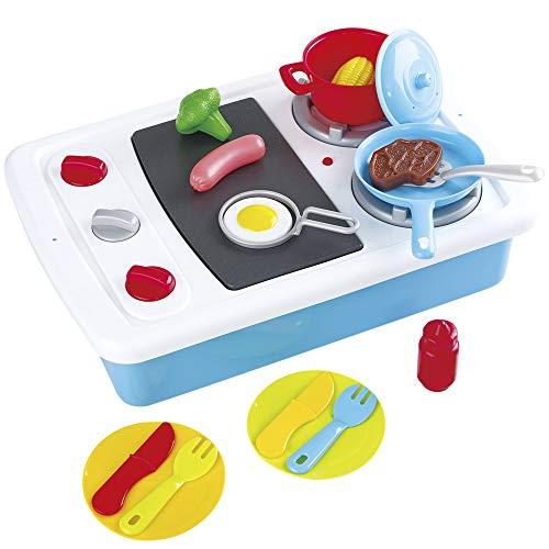 PlayGo - Cocina de juguete con luz, sonido y accesorios (46627)